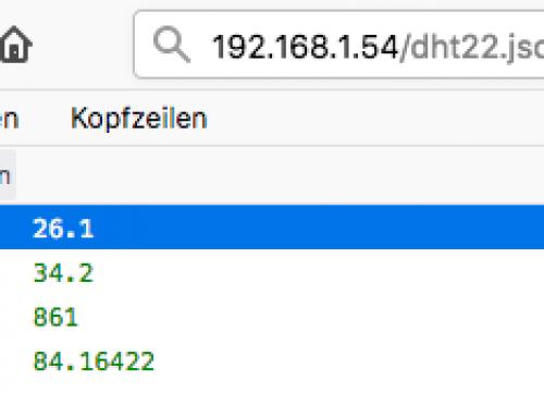 JSON Datei über HTTP Binding mit OpenHAB auslesen