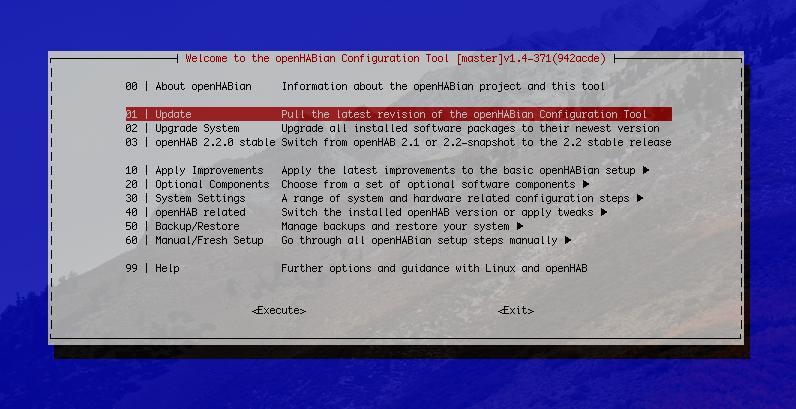 Update auf openHAB 2.3 Stable
