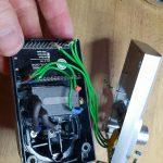 Leserprojekt Andy: Ultraschallsensor in alter Funksteckdose