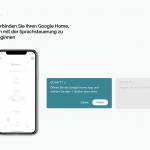 Einrichtung Google Home